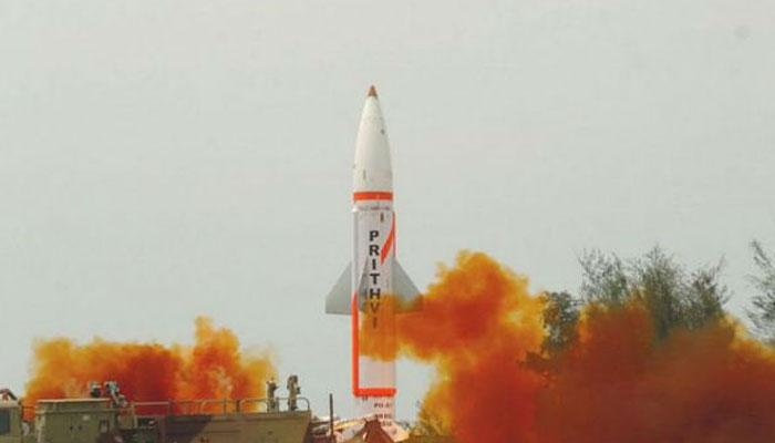 ओडिशा के बालासोर तट से पृथ्वी-II मिसाइल सफल परीक्षण