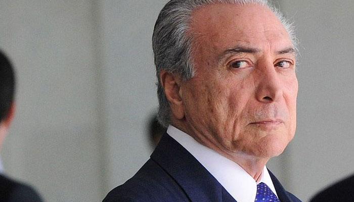 ब्राजील के राष्ट्रपति माइकल टेमर को छोड़ना पड़ सकता है अपना पद