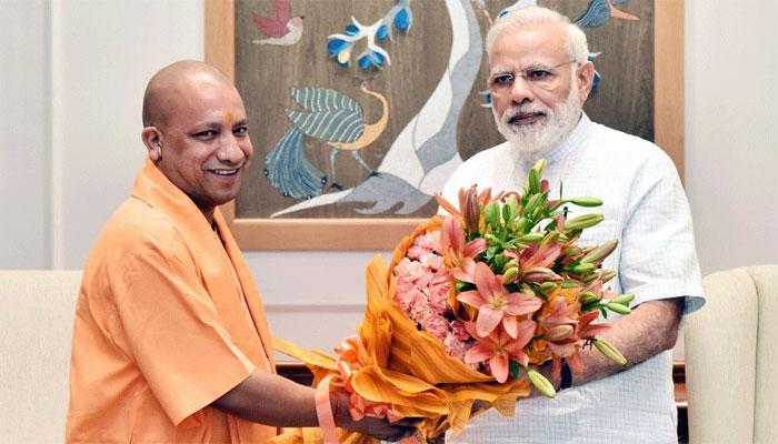 PM मोदी से मिले यूपी के CM योगी आदित्यनाथ, योग दिवस और किसानों के मुद्दे पर हुई चर्चा