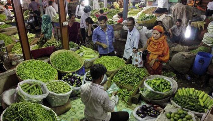 खुदरा महंगाई घटकर 2.18 फीसदी, सब्ज़ियों और दालों की क़ीमत में तेज़ गिरावट