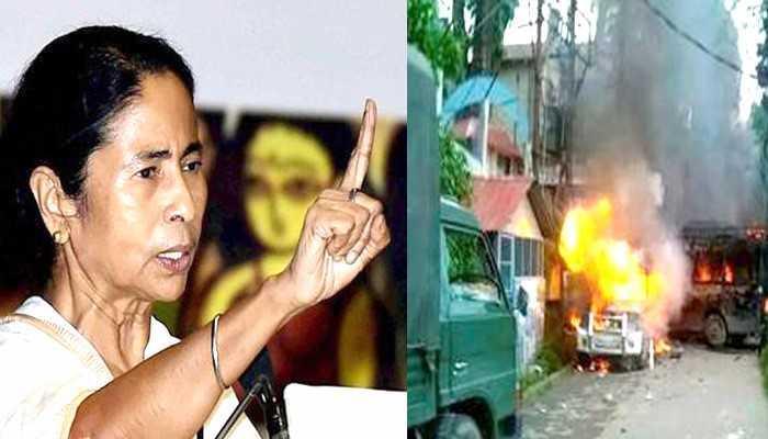 गोरखालैंड आंदोलन: ममता का मोदी सरकार पर आरोप, अमित शाह ने दिया जवाब