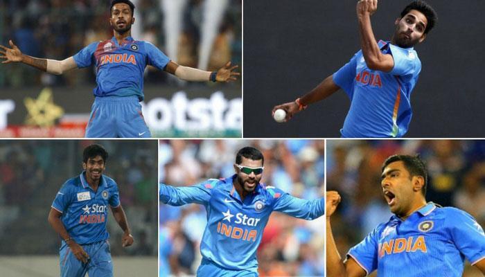 चैंपिंयस ट्राफी में टीम इंडिया के इन 5 बॉलरों ने खींचा दुनिया का ध्यान, आंकड़े दे रहे गवाही