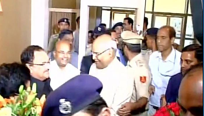 कोविंद के राष्ट्रपति पद का उम्मीदवार बनने पर कानपुर के दयानंद विहार में जश्न का माहौल