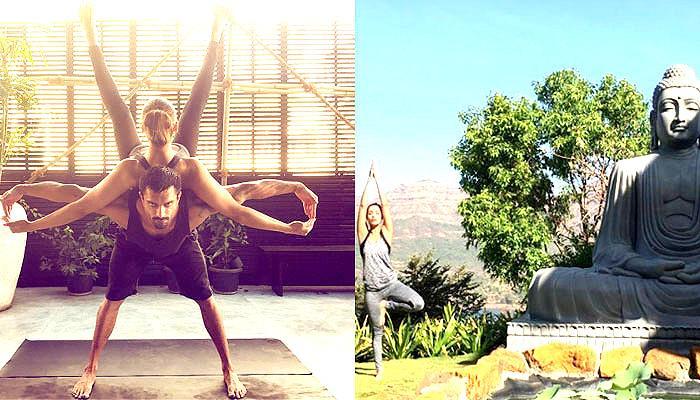 इंटरनेशनल योग दिवस: शिल्पा शेट्टी, मलाइका, बिपाशा ने कैसे किया योगा- देखें ये खास PICS