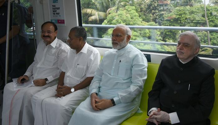 कोच्चि यात्रा के दौरान मोदी पर थी आतंकी खतरे की आशंका, केरल सीएम ने की पुष्टि