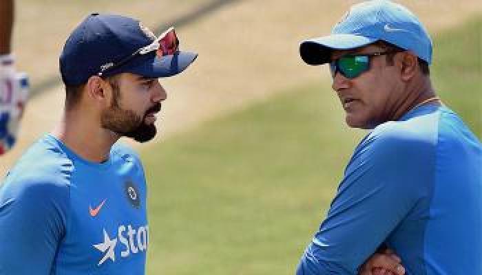 फाइनल से दो दिन पहले विराट-कुंबले के बीच कहासुनी, कोहली ने कहे अपशब्द: सूत्र