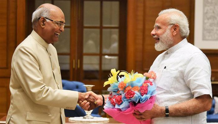 राष्ट्रपति चुनाव : पीएम की मौजूदगी में आज नामांकन दाखिल करेंगे रामनाथ कोविंद