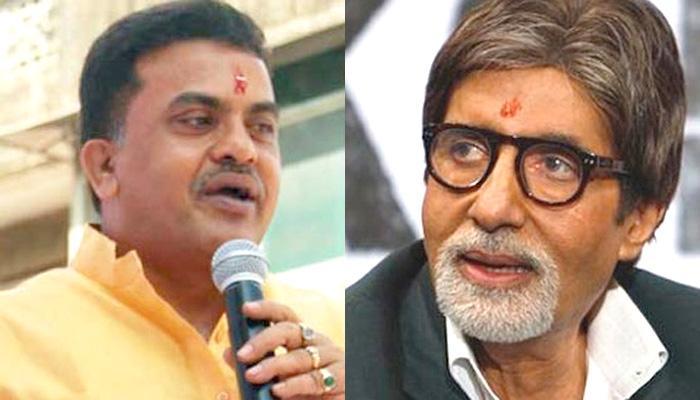 GST के प्रचार पर कांग्रेस नेता संजय निरुपम ने अमिताभ को दी ये सलाह...
