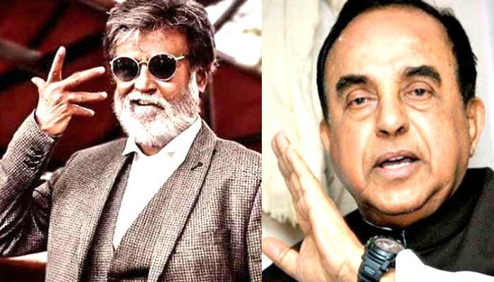 रजनीकांत को सुब्रमण्यम स्वामी ने बताया अशिक्षित, कहा 'वह अगले श्री 420 साबित होंगे!'