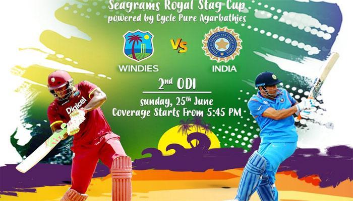 India vs West Indies 2017 : कब, कहां और कैसे देख सकते हैं LIVE दूसरा वनडे मैच