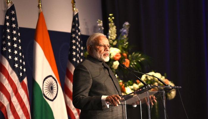 अमेरिका में शीर्ष कंपनियों के सीईओ और भारतीयों से मिले प्रधानमंत्री मोदी