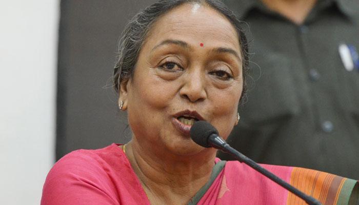 मीरा कुमार ने कहा: जाति नहीं, विचाराधार के आधार पर होगा राष्ट्रपति चुनाव