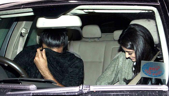 अमिताभ बच्चन की नातिन नव्या के दोस्त ने कैमरे को देखते ही छिपाया चेहरा!