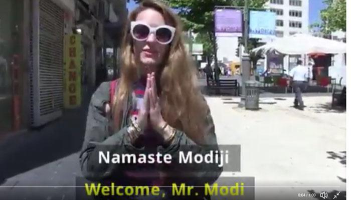 VIDEO : हिंदी बोलकर पीएम मोदी का स्वागत कर रहे हैं इजरायल के लोग