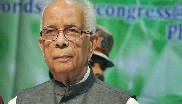 राज्यपाल केशरीनाथ त्रिपाठी ने मुख्यमंत्री के साथ हुई बातचीत पर राष्ट्रपति को पत्र लिखा