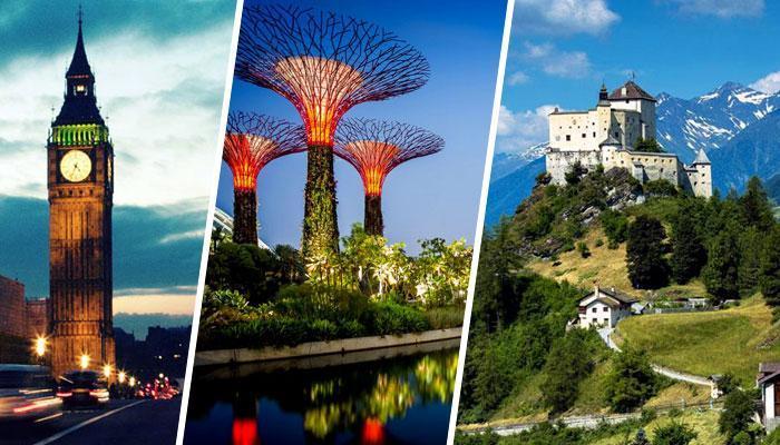 ये हैं 2017 के टॉप 10 आकर्षक देश