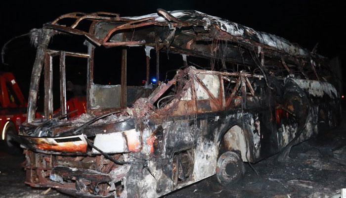 इक्वाडोर: भीषण बस दुर्घटना में 14 की मौत, 30 व्यक्ति घायल