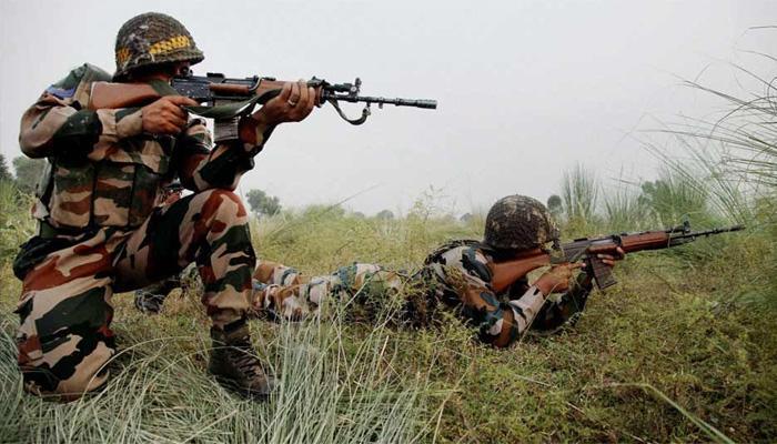भारतीय सेना की गोलीबारी से चार पाकिस्तानी सैनिकों की मौत, नदी में गिरा वाहन