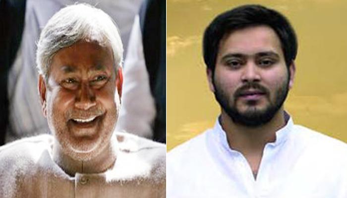 महागठबंधन पर संकट के बीच सीएम नीतीश कुमार से मिले तेजस्वी यादव, 45 मिनट तक हुई बातचीत