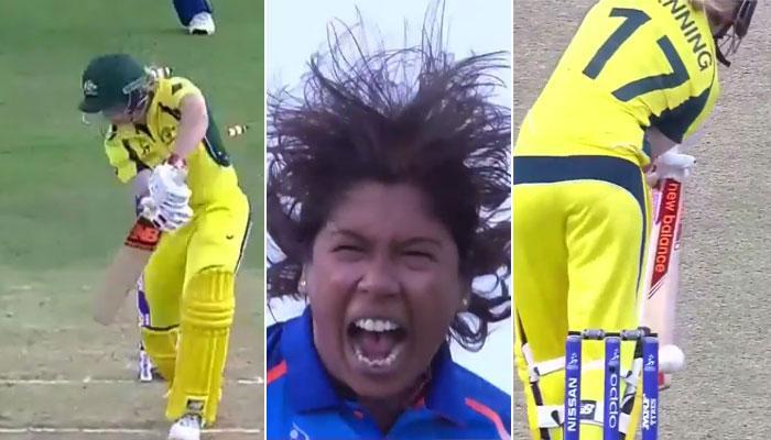 VIDEO : जब झूलन गोस्वामी ने नंबर 1 बल्लेबाज की ऐसे उड़ाई गिल्लियां