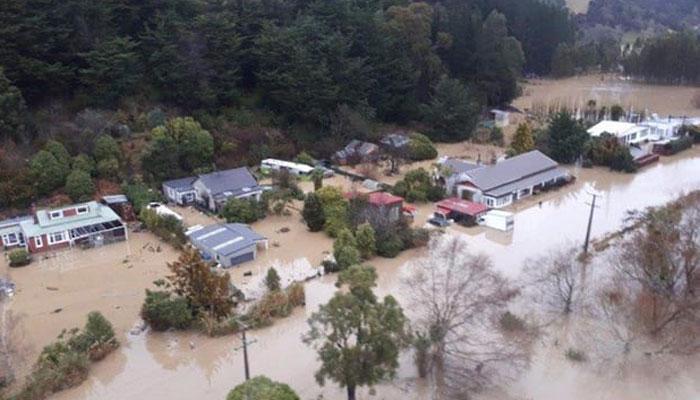 न्यूजीलैंड में भीषण बाढ़ की वजह से आपातकाल घोषित, खाली कराया गया क्राइस्टचर्च