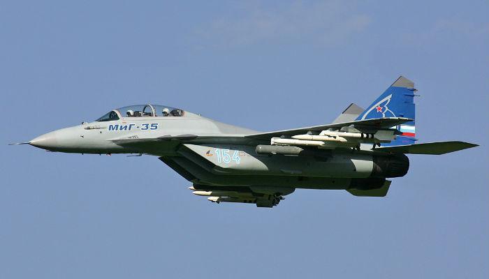 अपना नया युद्धक विमान एमआईजी-35 भारत को बेचना चाहता है रूस
