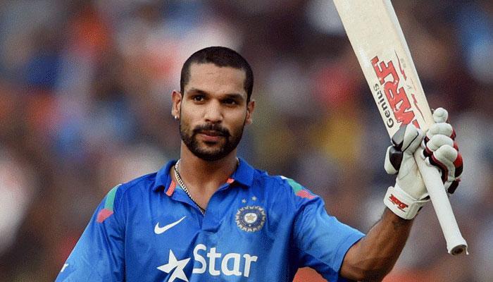 टीम इंडिया के 'गब्बर' ने दिखाया तूफानी अंदाज, सीधे कैमरे पर लगा शॉट
