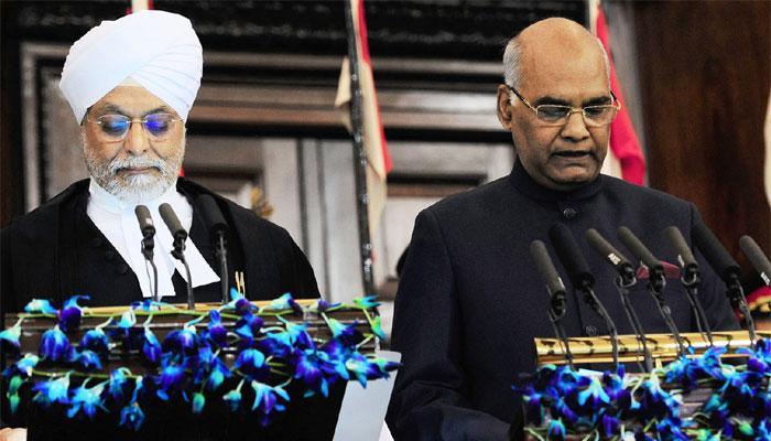 देश के 14वें राष्ट्रपति बने रामनाथ कोविंद, सभी का आभार जताया