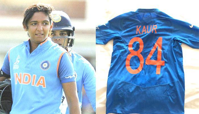 जानिए क्रिकेटर हरमनप्रीत की 84 नंबर की जर्सी का राज!