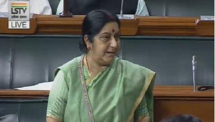 लोकसभा में बोलीं सुषमा, 'इराक में लापता भारतीयों के मारे जाने के सबूत नहीं'
