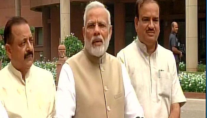 हवाई सर्वे के साथ व्यस्तता भरा रहा प्रधानमंत्री मोदी का दिन