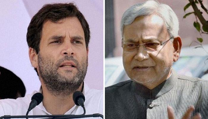 राहुल गांधी ने कहा धोखेबाज तो नीतीश कुमार ने किया पलटवार