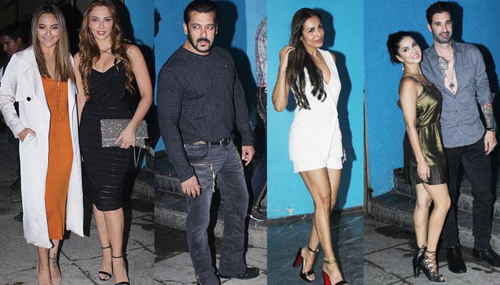 PICS: अरबाज खान के बर्थडे पार्टी में पहुंची मलाइका, सनी लियोनी के साथ यूलिया भी आईं नजर
