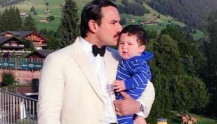 PICS: स्विट्जरलैंड में फैन्स और बेटे तैमूर के साथ मस्ती कर रहे हैं सैफ-करीना