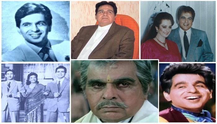 महान अभिनेता दिलीप कुमार की कुछ शानदार तस्वीरें...