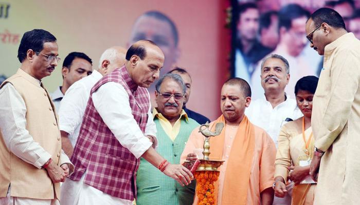 योगी आदित्यनाथ ने कहा, उत्तर प्रदेश में अब होगी किसानों पर केन्द्रित राजनीति