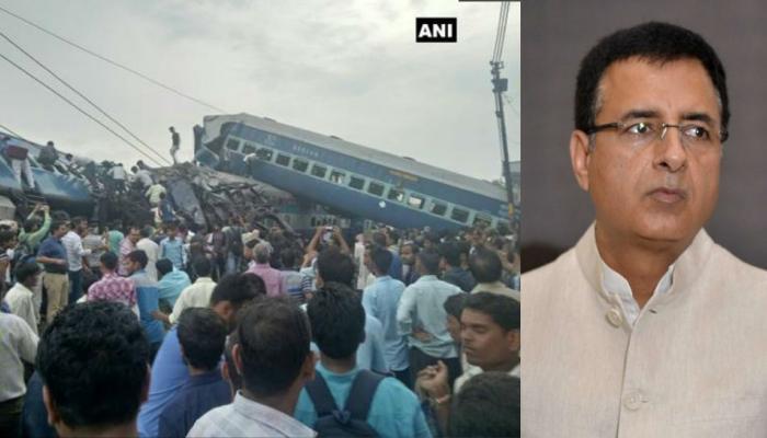 2014 से अब तक हुए रेल हादसों पर कांग्रेस ने मोदी सरकार को घेरा
