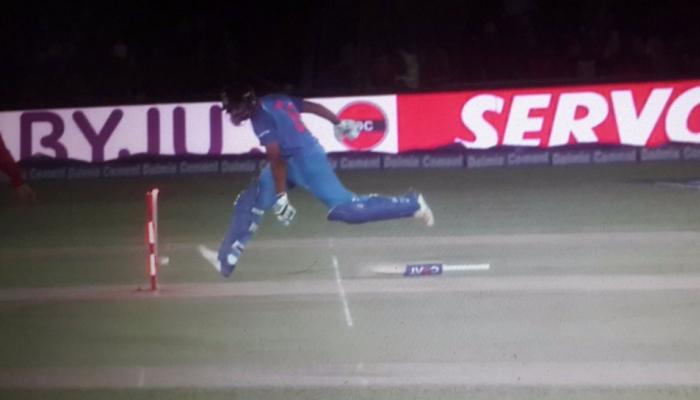 VIDEO : दूसरी बार ऐसे आउट हुए रोहित शर्मा, आज 1 अक्टूबर होता तो होते NOT OUT