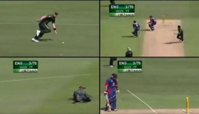 VIDEO : क्रिकेट इतिहास का सबसे अजब-गजब रनआउट, GOOGLE सर्च में बना नंबर 1