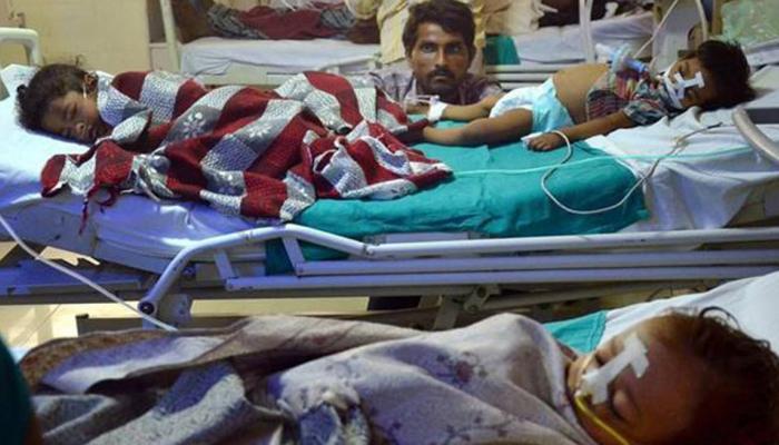 गोरखपुर हादसे में फरार बीआरडी कॉलेज के प्रिंसिपल पत्नी सहित हिरासत में