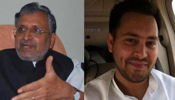 बिहार के डिप्टी सीएम सुशील मोदी को मिला तेजस्वी यादव का बंगला