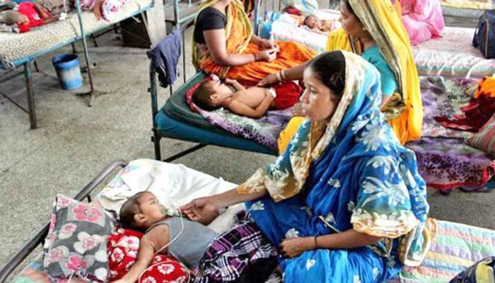बीआरडी मेडिकल कालेज में पिछले 24 घंटे में 13 और बच्चों की मौत