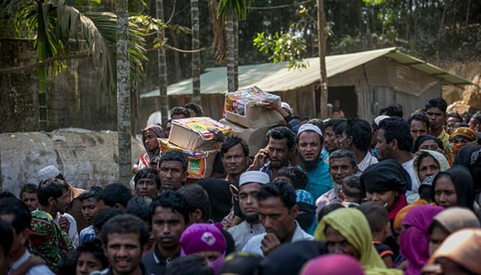 रोहिंग्या मुस्लिमों को वापस भेजने के मुद्दे पर सुप्रीम कोर्ट ने केंद्र से मांगा जवाब