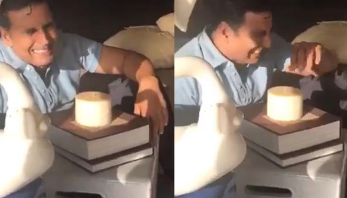 अपने जन्मदिन पर आखिर क्यों रो रहे हैं अक्षय कुमार! देखें वीडियो