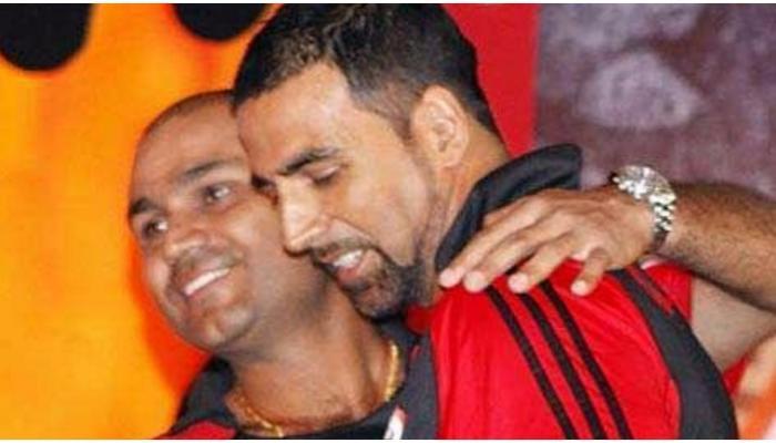 कुछ इस अंदाज में सहवाग ने दी अक्षय कुमार को जन्मदिन की बधाई