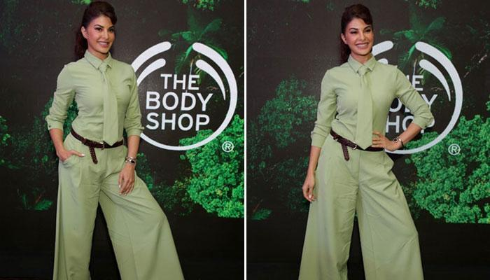 "Jacqueline Fernandez looks gorgeous as ever during the launch of ""The Body shop bio Bridge Project"""