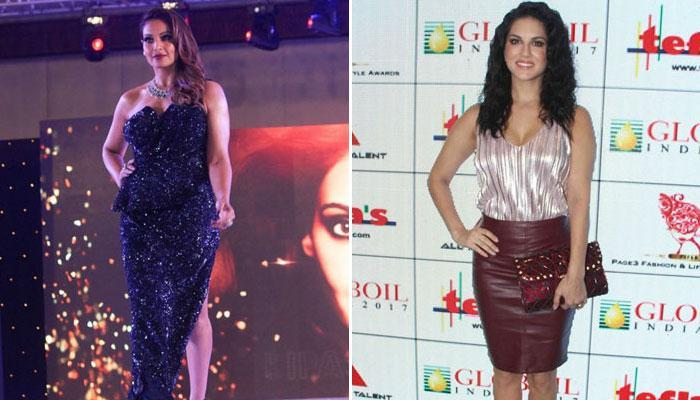 Bipasha Basu, Sunny Leone dazzle at  `Globoil India Awards 2017`