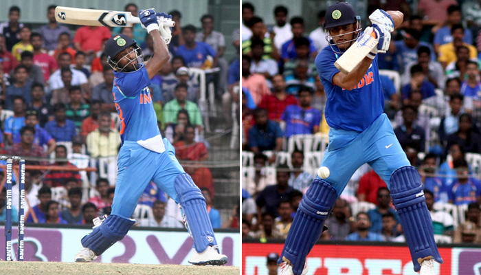 Hardik Pandya-MS Dhoni partnership was the game-changer against Australia at Chepauk