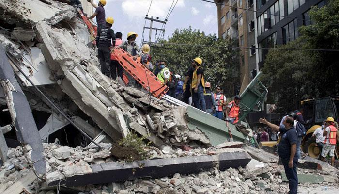 Massive earthquake devastates Mexico
