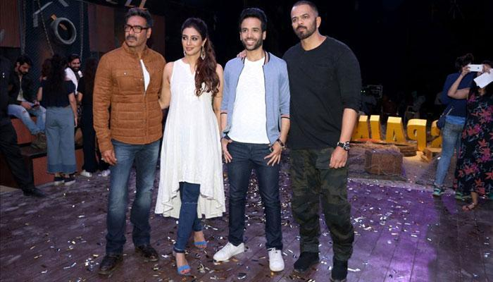 Ajay Devgn, team promote `Golmaal Again` on sets of `Khatron Ke Khiladi`